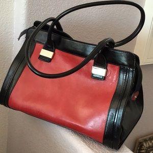Roomy Red handbag
